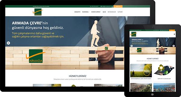 Armada Çevre Danışmanlık | Web Tasarım