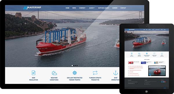 Master Deniz Acenteliği | Web Tasarım