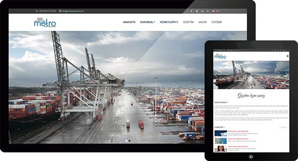 Metro Uluslararası Gözetim Hizmetleri | Web Tasarım